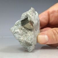 SS Rocks - Pyrite Crystal in Matrix (Navajun, La rioja, Spain) 82g