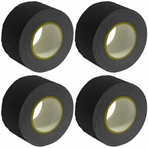 4 Pack of Gaffer's Tape - Black 3 inch Roll 60 Yards per Roll Gaffers Tape
