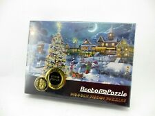 Becko OS Puzzle 1000 Pieces Christmas/Holidays Wooden Jigsaw Puzzle