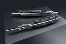 Für BMW Chrom Schwarz Seitenblinker M LED Blinker Tuning Styling Motorsport 3er