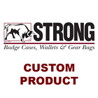 Strong Leather Company - Deluxe Hidden Badge Wallet - 79233-2002 ID Holder