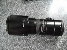 Sigma 400mm f5.6 MC AF prime lens for Pentax