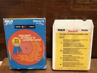 The Best Of Today's Country Hits 23 Stars Various Artists Stereo 8 Track Tape VG