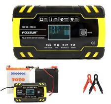 8A 12V 24V Intelligent Pulse Repair Car Battery Charger Jump Starter Agm/Gel Aa+