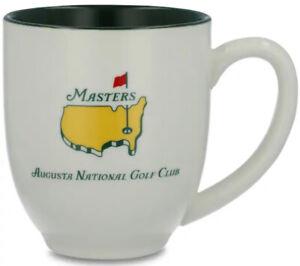 2021 Masters White Coffee Mug Cup Augusta National Golf Club ANGC Tiger Woods ☕️