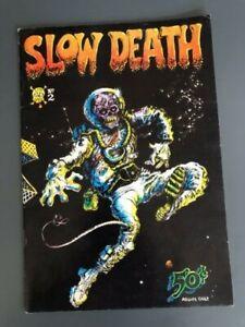 Slow Death #2 Last Gasp Comics Richard Corben 1970
