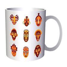 Indian African Guise Ellements 11oz Mug ff132