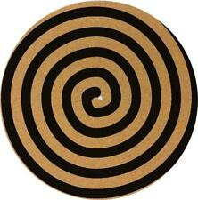 Slipmat Slip Mat for Technics or any DJ Turntable Record Player CORK - SPIRAL