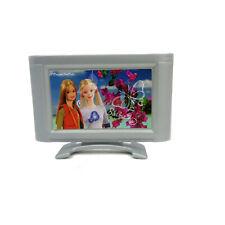 Accesorio De Barbie Glam Dream casa de mi pantalla plana televisión Diorama Play