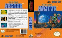Starship Hector Nintendo Nes Cleaned & Tested Authentic