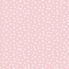 Organic Cotton Flannel 'Cloud 9 - Confetti - Pink - Northerly Range' 170gsm