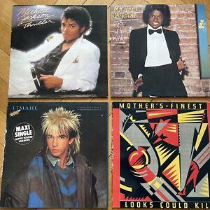 LP Vinyl Sammlung Michael Jackson Off The Wall Thriller / Mothers Finest Limahl