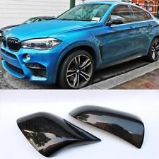 2pc M-Style Carbon Fiber Side Mirror Cover Replacement Cap for BMW X5 X6 2014-UP