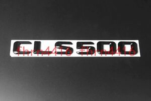 Gloss Black CLS500 Letters Trunk Emblem Badge Sticker for Mercedes Benz CLS500