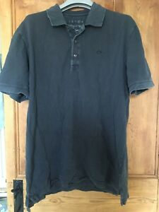 Lacoste Men's XL Size 4 Grey Polo Style T Shirt