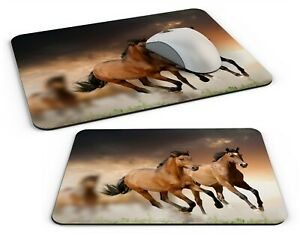 Beautiful Horses Lovely Computer PC Mousemat