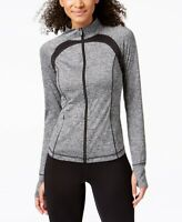 Ideology Womens Performance Zip Jacket Noir