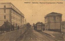SS0296 - PORTICI NAPOLI - STAZIONE CIRCUMVESUVIANA E PASTIFICIO VIAGGIATA 1910