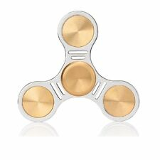 Aukwing Copper Fidget Spinner Toy, EDC Spinner w/ Hybrid Ceramic Bearing 3-7 min