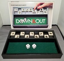 Vintage 1979 DOWN & OUT Game Complete in Box