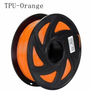 3D Printer Filament 1 Kg PLA ABS TPU 1.75 mm Consumable Material Spool Colorful