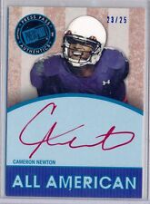 CAM NEWTON  2011 Press Pass All American Red Ink ROOKIE AUTO SP #/25 Panthers