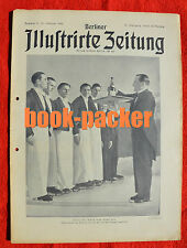 BERLINER ILLUSTRIRTE ZEITUNG 1932 Nr. 7: Die fliegende Festung / Memel