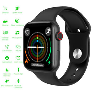 Full Touch Screen Smart Watch Fitness Tracker Call Reminder for iPhone Android