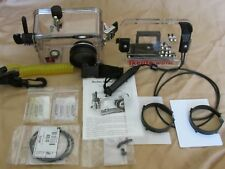 Ikelite Sony Cybershot DSC-P200 Rigid Camera Housing 6112.20 with Accessories