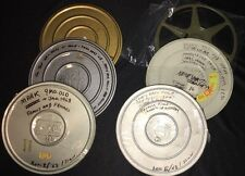 Lot Of 6 w/ 5.5 Cans VINTAGE 1950's/60's 8mm SUPER 8 Family Home Movies REELS