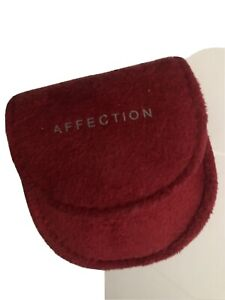 Mary Kay Affection Solid Perfume Slide Compact Travel Red 0.1oz DISCONTINUED