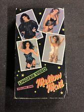 MELLOW MAIL LINGERIE VIDEO VOLUME 1 VHS SEXY LINGERIE MODELS RARE 80's