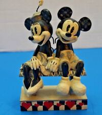Disney Traditions Mickey and Minnie - Date Night - Retired And Rare