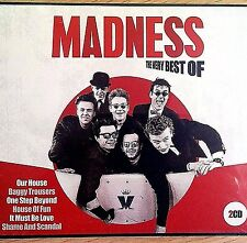 2CD NEW SEALED - THE VERY BEST OF MADNESS - Pop 80's Music 2x CD Album & POSTER