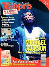 french magazine Télépro N°2937 michael jackson 2010