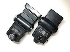 New ListingVivitar 285Hv and Vivitar 283 Shoe Mount Flashes with Accessories