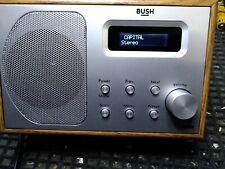 radio rds-dab - Bush   Radio - legno e silver