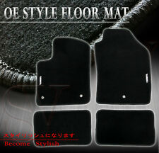 Factory Cutting Carpet Floor Mats + Protection Coating For 07-16 Fiat 500e