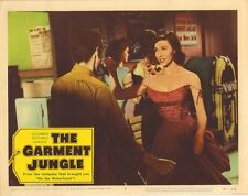 VERA MILES - Vintage American Lobby Card No.7 THE GARMENT JUNGLE 1957  C#73