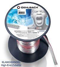 OEHLBACH Silverline SP-25  / 3000 / Lautsprecher Kabel 2 x 2,5mm /30m / 187 Neu