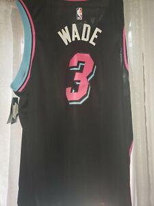 Miami Heat Dwyane Wade  *CITY* MIAMI VICE Nights Nike Swingman Jersey 3XL RARE