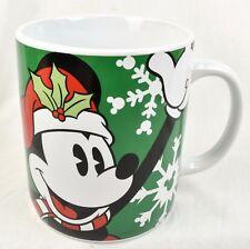 Disney Mickey Mouse Large Coffee Mug Hot Cocoa Snowflake Christmas Galerie