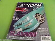 FAST FORD MAGAZINE SEPTEMBER 2002  #C5