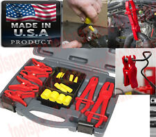 AUTO MASTER Rubber STEEL HOSE LINE STOPPER Pinch Off Clamp PLIERS SEALER TOOL