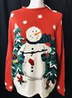 Kohl's Ugly Christmas Sweater Med NWT Snowman