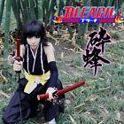 Anime Bleach Soi Fong COS Shinigami Kimon Black Suit Cosplay Uniform Costume