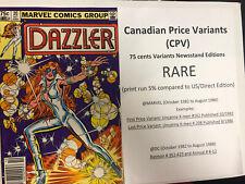 Dazzler (1982) # 20 (vf) Precio canadiense variante (CPV)