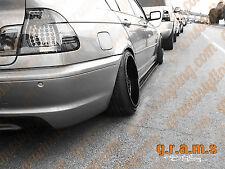 BMW E46 pasos del lado Brillo/Lado Falda extensiones Aero, el rendimiento de carreras, V6
