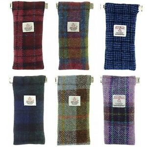 Glen Appin Harris Tweed Glasses Case LB2109 choice of colours