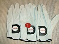Kirkland Signature Leather Golf Glove 3-pack & cool Ball Marker! all sizes